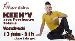 Keen'v sera à la Feria de Istre le 13/06/2014