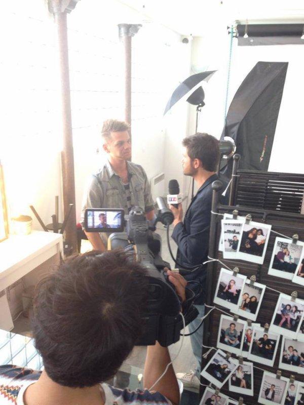 Keen'v pour un Interview pour TF1 - 50 min inside ;)