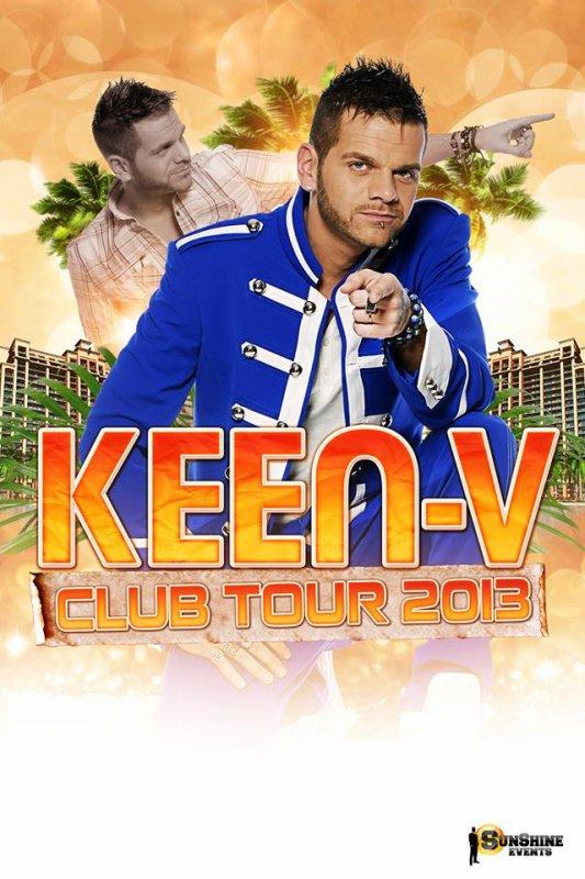 Keen'v en show-case à la discothèque La taverne le 15/07/2014