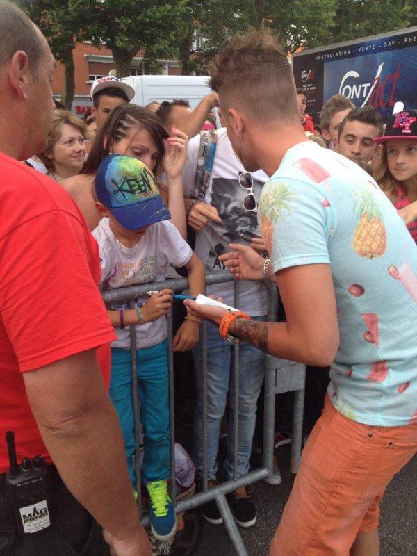Keen'v au concert au Cristal Live le 02/07/2014 à Lisieux