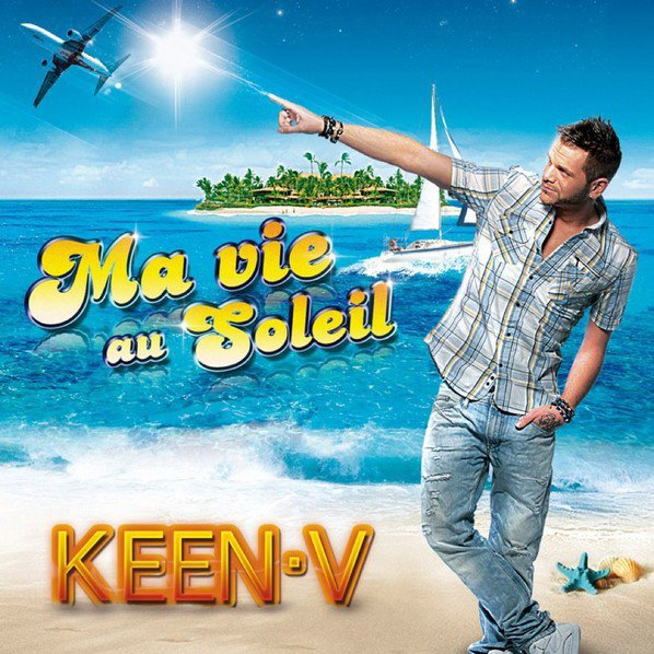 Les Paroles Ma vie au soleil du 5éme single de Keen'v