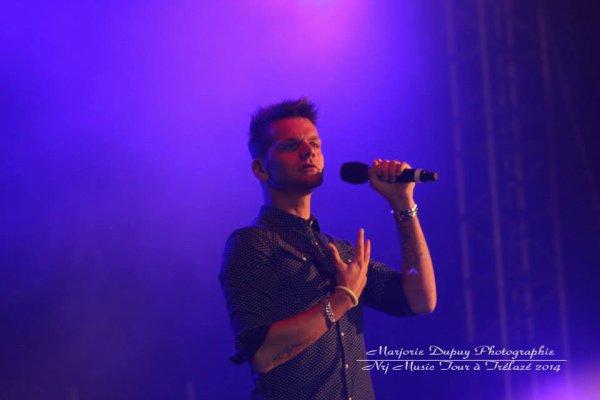 Keen'v au concert de #NMT de Trelazé le 10/07/2014