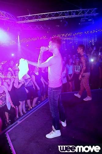 Keen'v Nawaach en showcase au Shine club le 22.07.2014