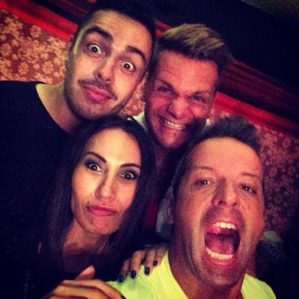 Keen'v avec JAY STYLE et DJ Mélyna hier à L'indigo pour NRJ EXTRAVADANCE TOUR 2014