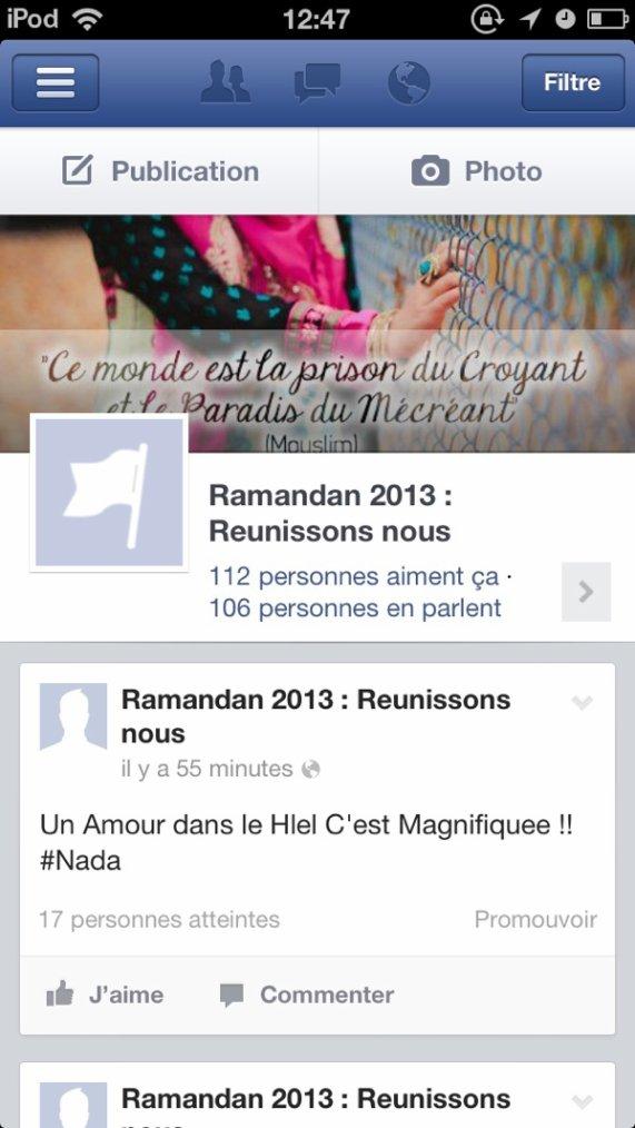 Page Facebook Aimez