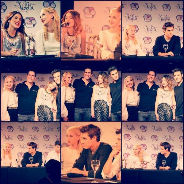 Des photoshoot et aussi des photo de la conference de presse pour Violetta 2 ou Mercedes a etais presente et pour finir quelque photo de violetta la saison deux.