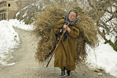 La femme kabyle qui travaille