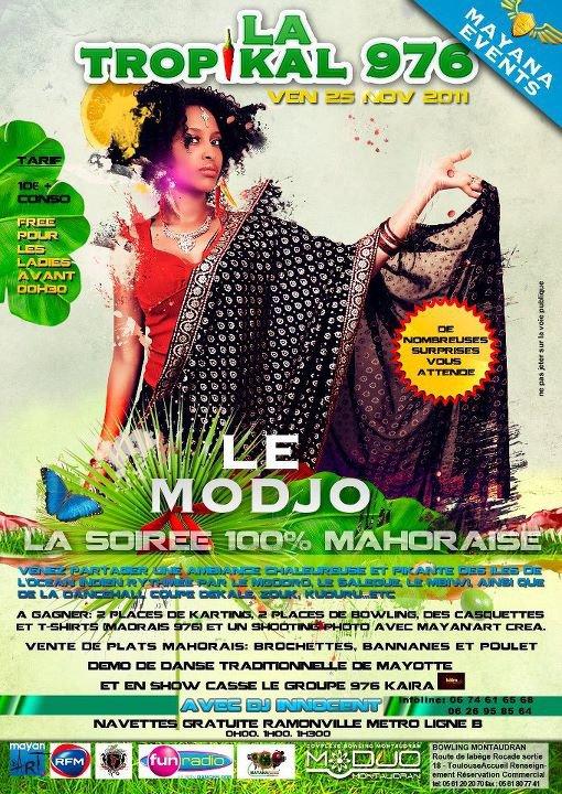 RDV vendredi 25 Nov au MODJO (toulouse)