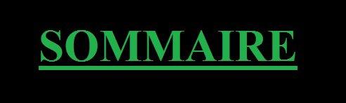 Sommaire & Newsletter