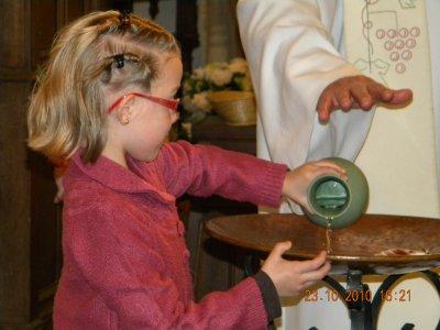 quelques photos du baptême de randy