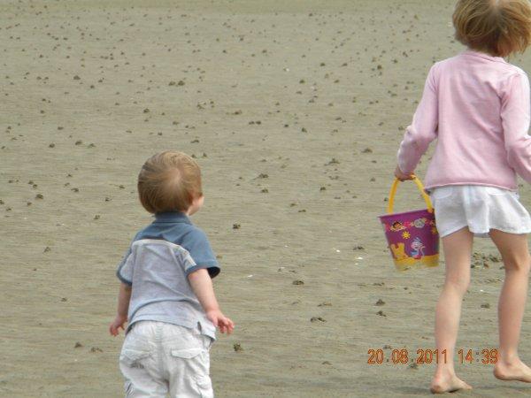 journée à la plage de graveline