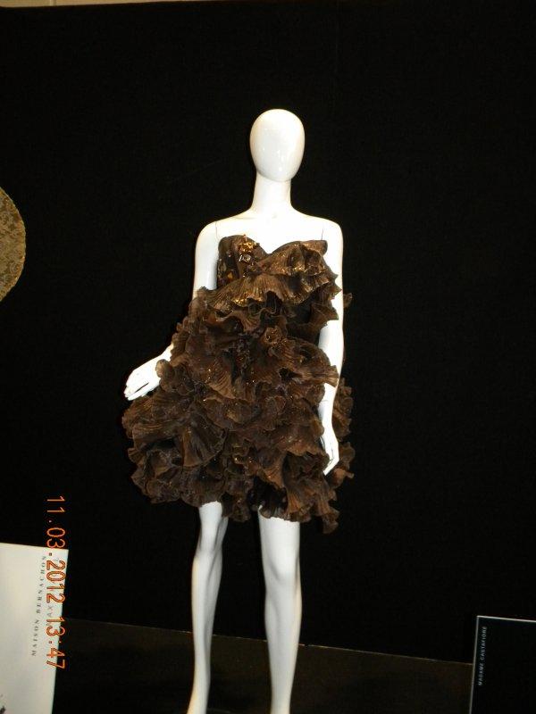 salon du chocolat  les robes