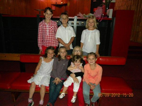 anniversaire de léanne au bowling