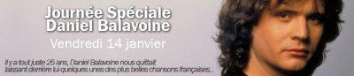 France Bleu - Hommage à Daniel Balavoine, 25 ans après sa disparition