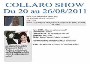 BALAVOINE Sur Télé-Mélody en Aout & Septembre 2011