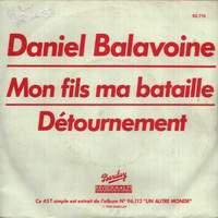 """""""J'ai écrit une chanson sur un détournement d'avion, on ne m'a jamais demandé si j'en avais détourné un """" D.Balavoine"""