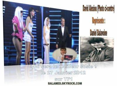 Qui sera le meilleur sosie ? le Vendredi 27 Janvier 2012 à 20h50 sur TF1. Alexiou pour Balavoine