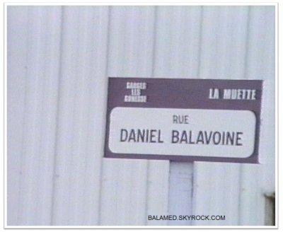 Rue Daniel Balavoine à Colombes, C'est Parti.
