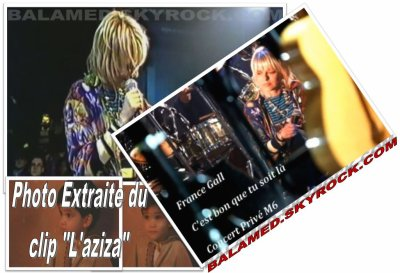 JEREMIE BALAVOINE Au Concert Privé de FRANCE GALL en 1997