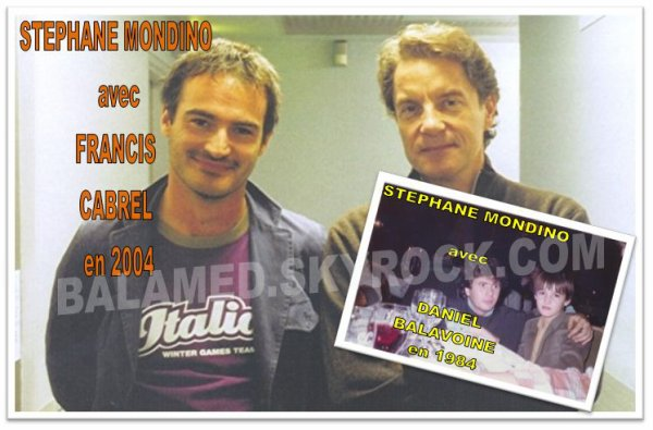 "STEPHANE MONDINO (Partie 2/2) ""Je suis fan de Daniel Balavoine depuis mon plus jeune age"" (S.Mondino)"
