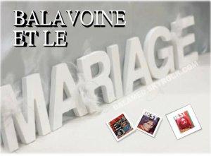 BALAVOINE ET SON MARIAGE