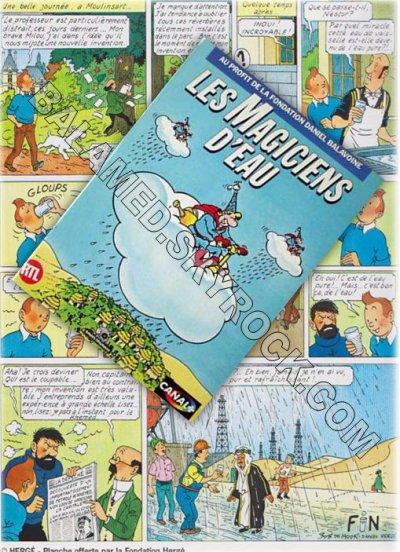 De Tintin à Balavoine - Les Magiciens d'Eau