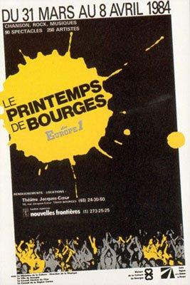 PRINTEMPS DE BOURGES 1984
