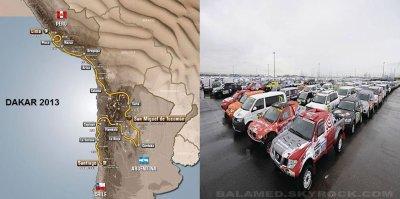 Le paris Dakar 2013, c'est parti !