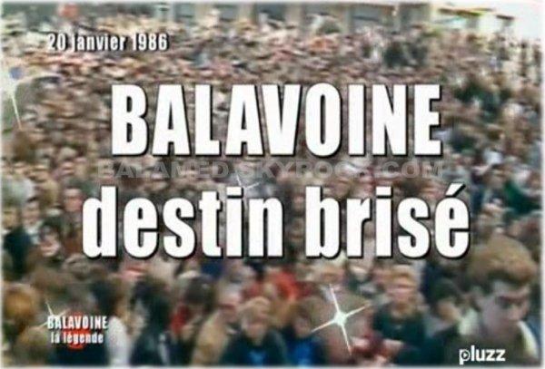 Hommage à Daniel Balavoine sur France TV Pluzz disponible en Replay jusqu'au 11 Janvier 2013