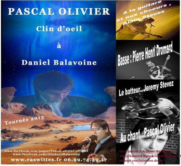 """Le groupe """"clin d'½il """" sollicité par Pascal Olivier donnerons un concerts Live dans le Pas de Calais (62) ,entre fin Novembre et Début décembre 2013"""
