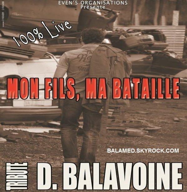 les billets d'entrée pour le concert tribute to Daniel Balavoine sont désormais en vente pour l'événement du 26 Octobre 2013
