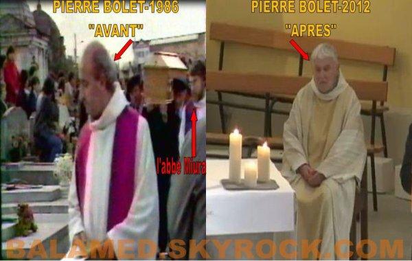 Le père Pierre Bolet, L'homme qui à célébré les Funérailles de Daniel Balavoine