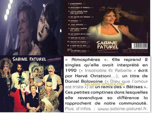 """Sabine Paturel de retour avec """"Dieu que L'amour est triste"""""""