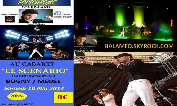 Le Groupe POLYCHROME reprendra les plus grands tubes de Daniel BALAVOINE. 3 dates de concerts à ne pas manquer