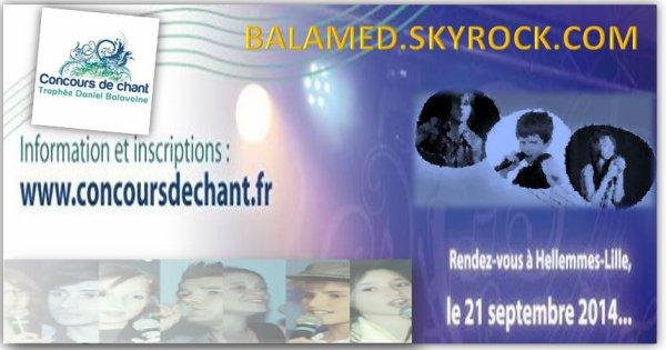 Trophée Daniel Balavoine, concours de chant le 21 Septembre 2014 à Hellemes