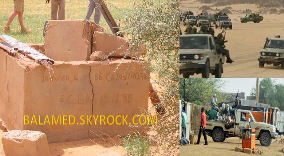 La stèle des occupants du Paris Dakar détruit par des Salafistes