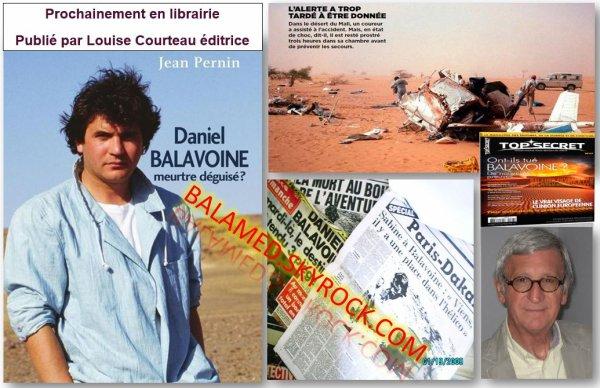 L'affaire Daniel Balavoine. Meurtre déguisé? Quand l'Au-delà dévoile la vérité. (Le 16/05/2015 à Dijon)