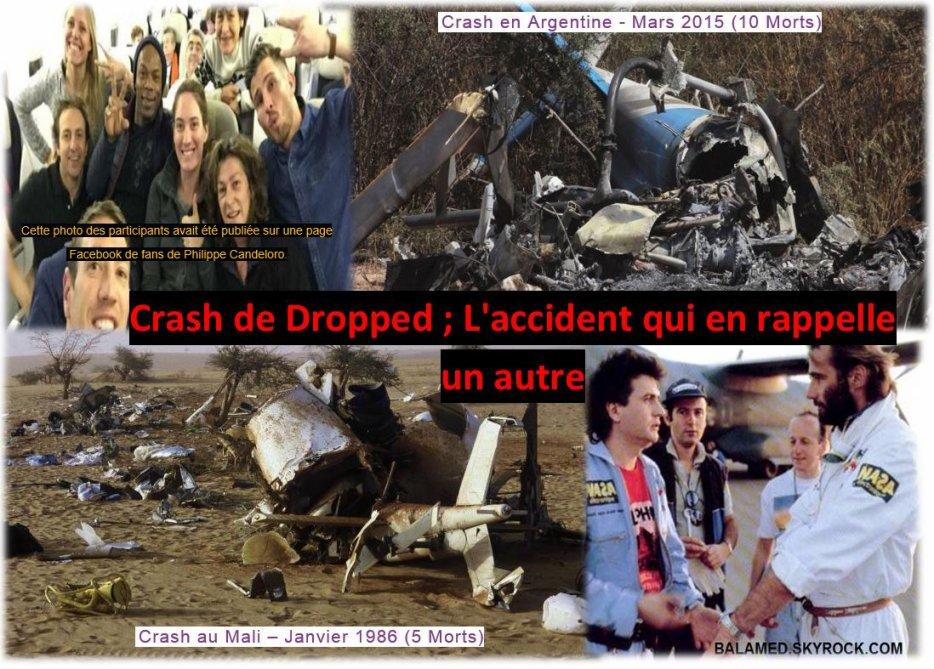 Crash de Dropped ; L'accident qui en rappelle un autre