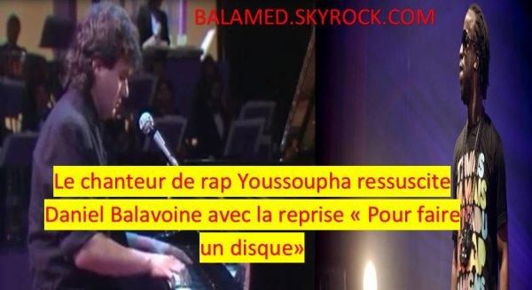Le chanteur de rap Youssoupha ressuscite Daniel Balavoine avec la reprise « Pour faire un disque »