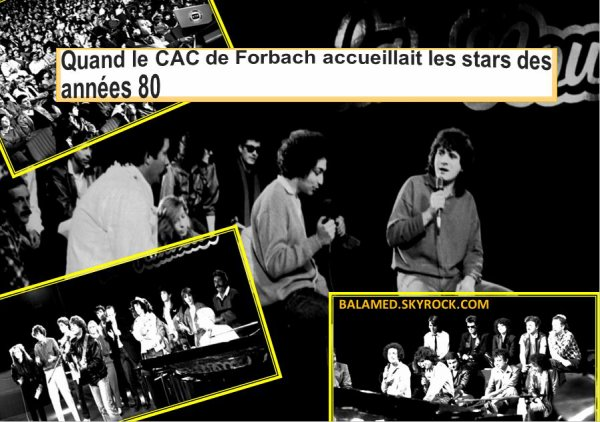 NOSTALGIE : Quand le CAC de Forbach accueillait les stars des années 80