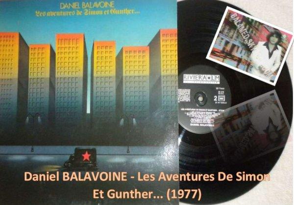 Daniel BALAVOINE - Les Aventures De Simon Et Gunther... (1977)