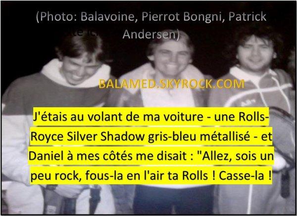 Pierrot Bongni nous parle de Daniel Balavoine