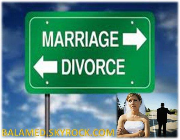 Un unique mariage qui a abouti sur un divorce