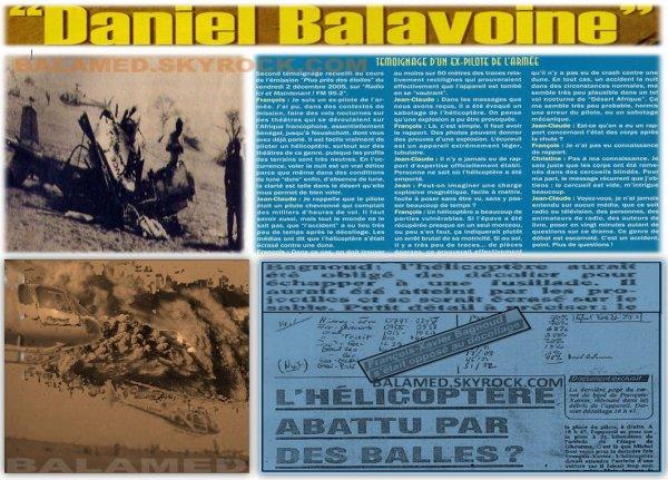 Meurtre de Balavoine - Déroulement des faits