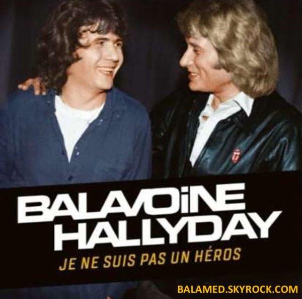 """""""Je ne suis pas un héros"""": une version inédite du tube de Daniel Balavoine, en duo avec Johnny"""
