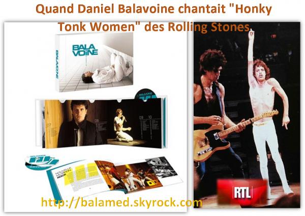 """Quand Daniel Balavoine chantait """"Honky Tonk Women"""" des Rolling Stones"""