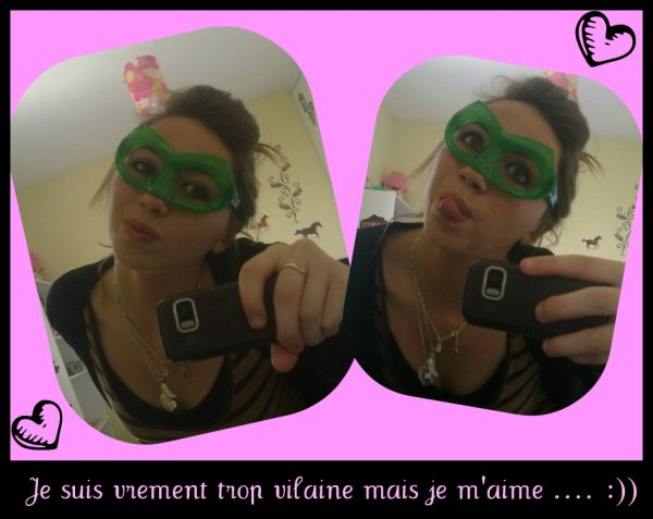 Moi ...... ♥  Trop une boufonne serieux ;))