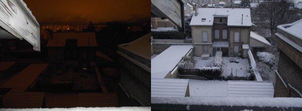 ♥♥ La neige à Reims  ♥♥