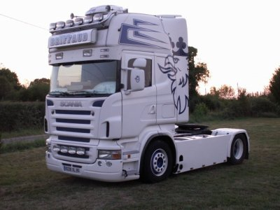 Le Scania R420 de Chritophe