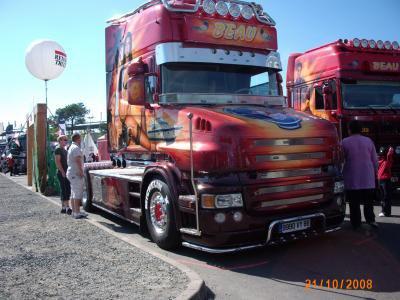 Scania de romuald des trans Beau